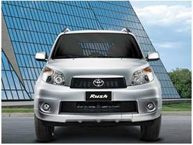 Toyota lanza en Chile su modelo New Rush