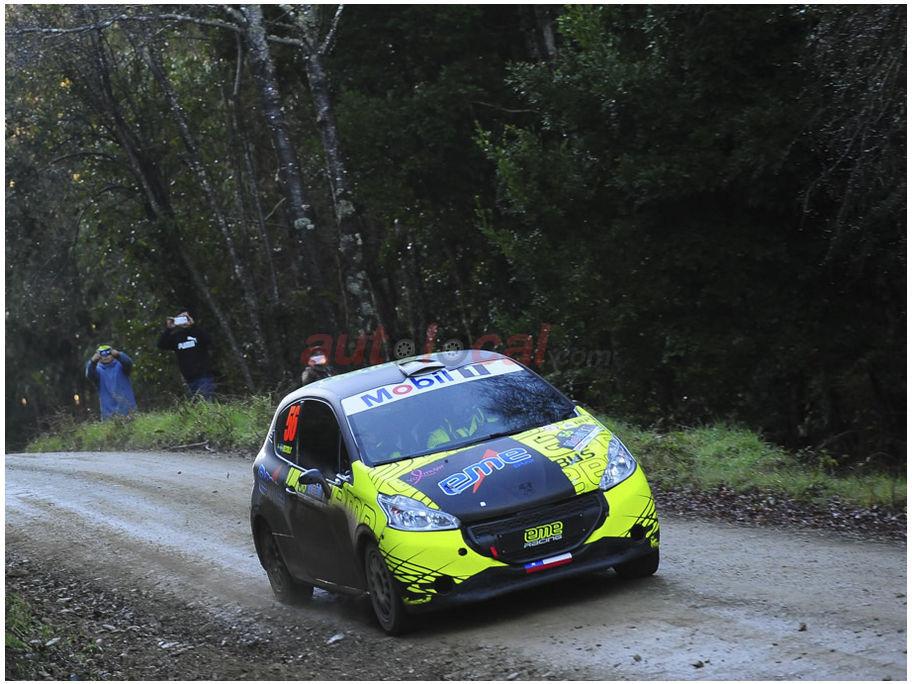 Podio para Patricio Muñoz en el RallyMobil de Frutillar