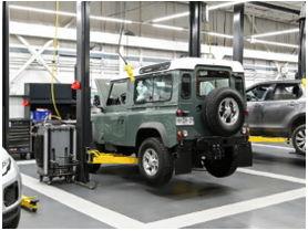 Jaguar Land Rover inaugura exclusivo showroom en ciudad empresarial