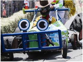 Vuelve a Santiago la carrera de autos locos más entretenida de Chile