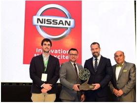 Nissan recibe reconocimiento como la mejor empresa en promover y difundir la electromovilidad