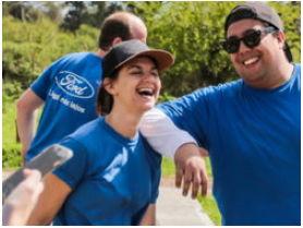 Septiembre es el Mes del voluntariado de Ford