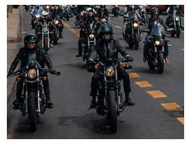 Motociclistas vintage recorrerán Santiago en campaña para la prevención del cáncer de próstata y el