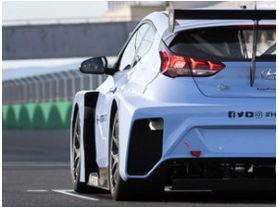 Hyundai Motorsport comienza los test del Veloster N STCR
