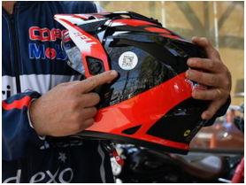 Código QR en cascos podría salvar muchas vidas en Chile