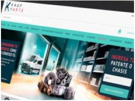 KAUFPARTS.COM: Kaufmann presenta nuevo servicio de venta de repuestos online