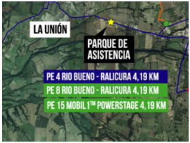 El Copec Rallymobil llega a la región de Los Ríos